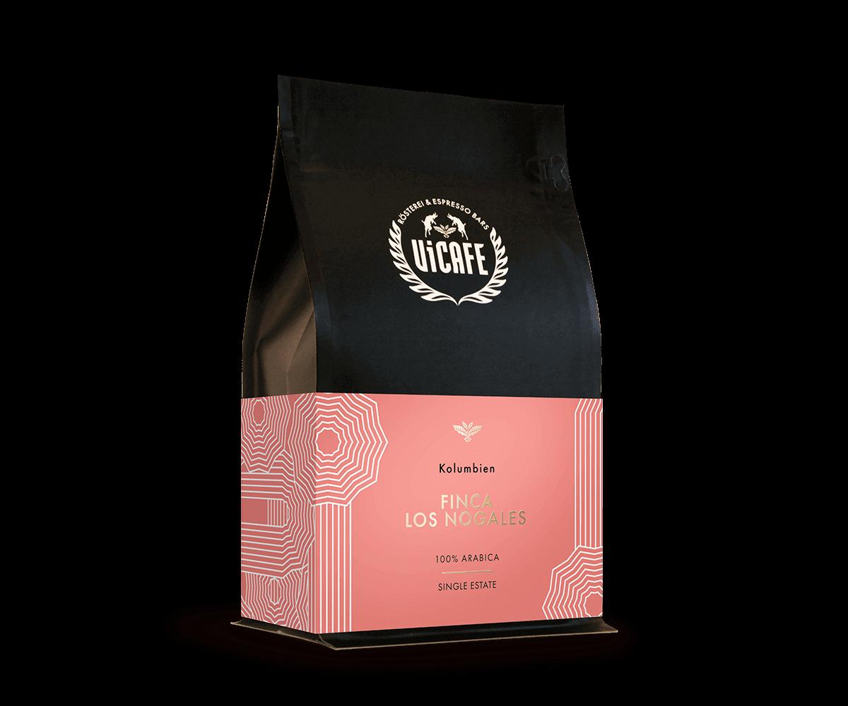Coffee by Finca Los Nogales, Colombia