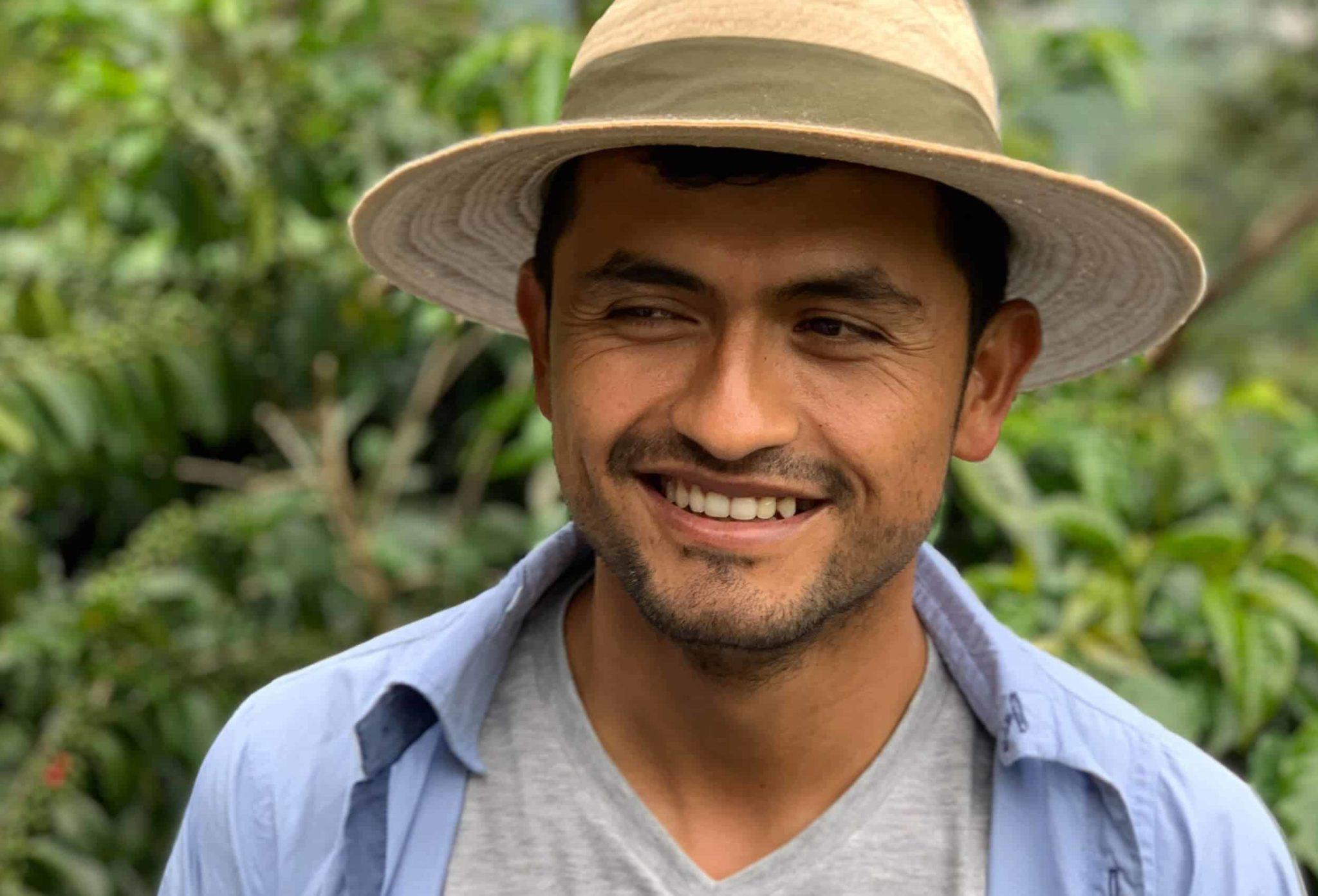 portrait coffee farmer