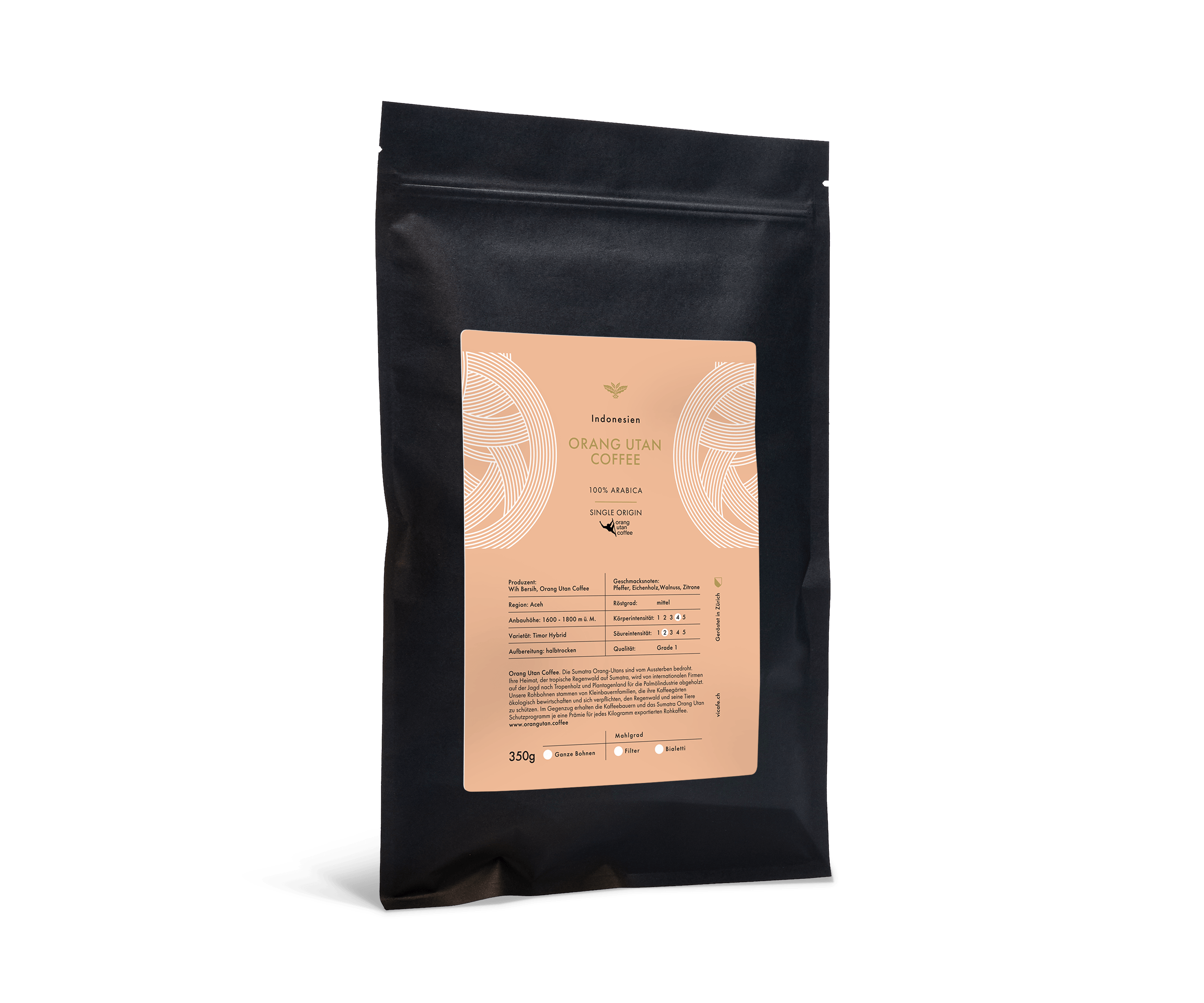 ViCAFE coffee subscription orang utan coffee product picture