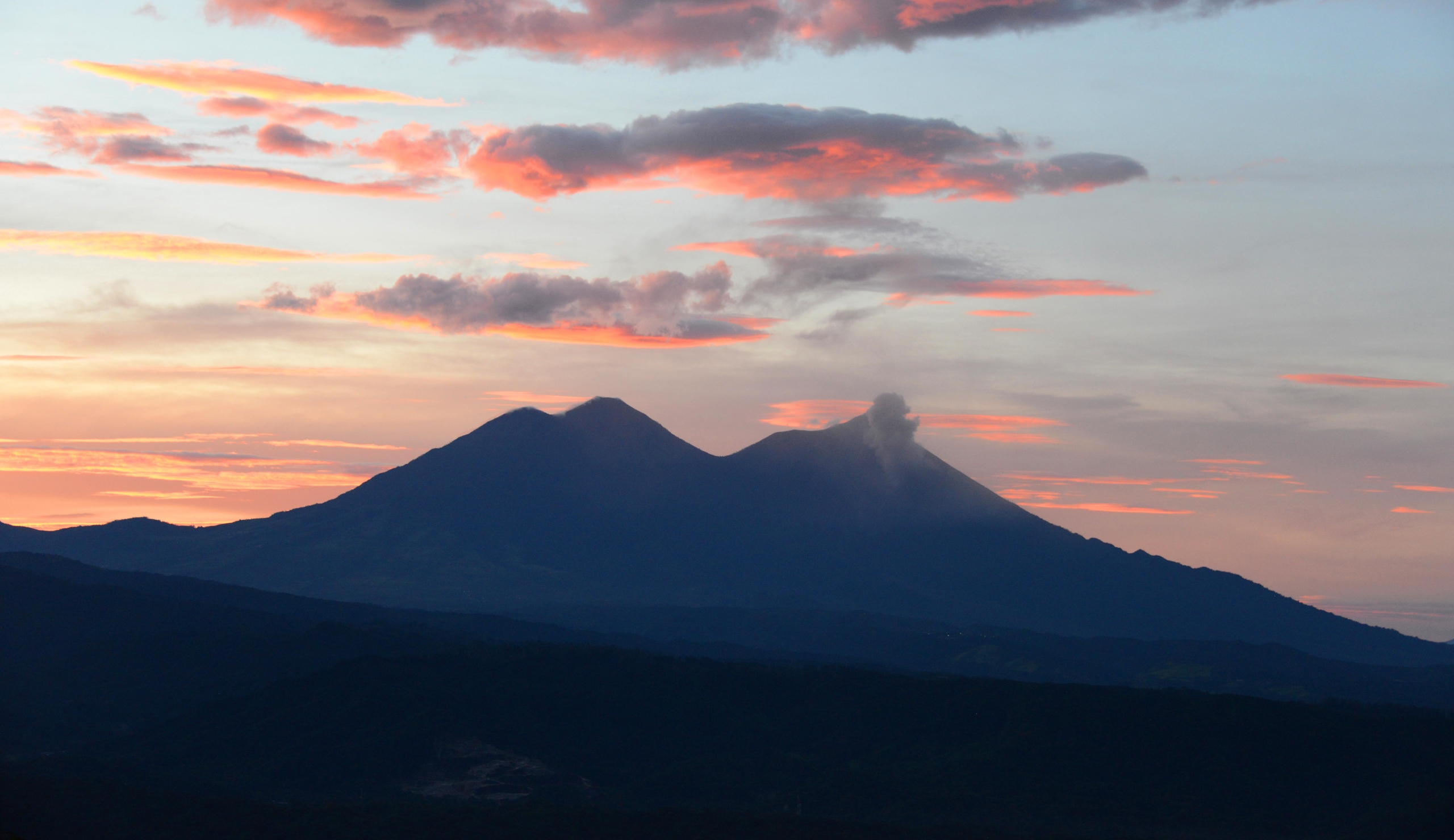 volcano atitlan guatemala