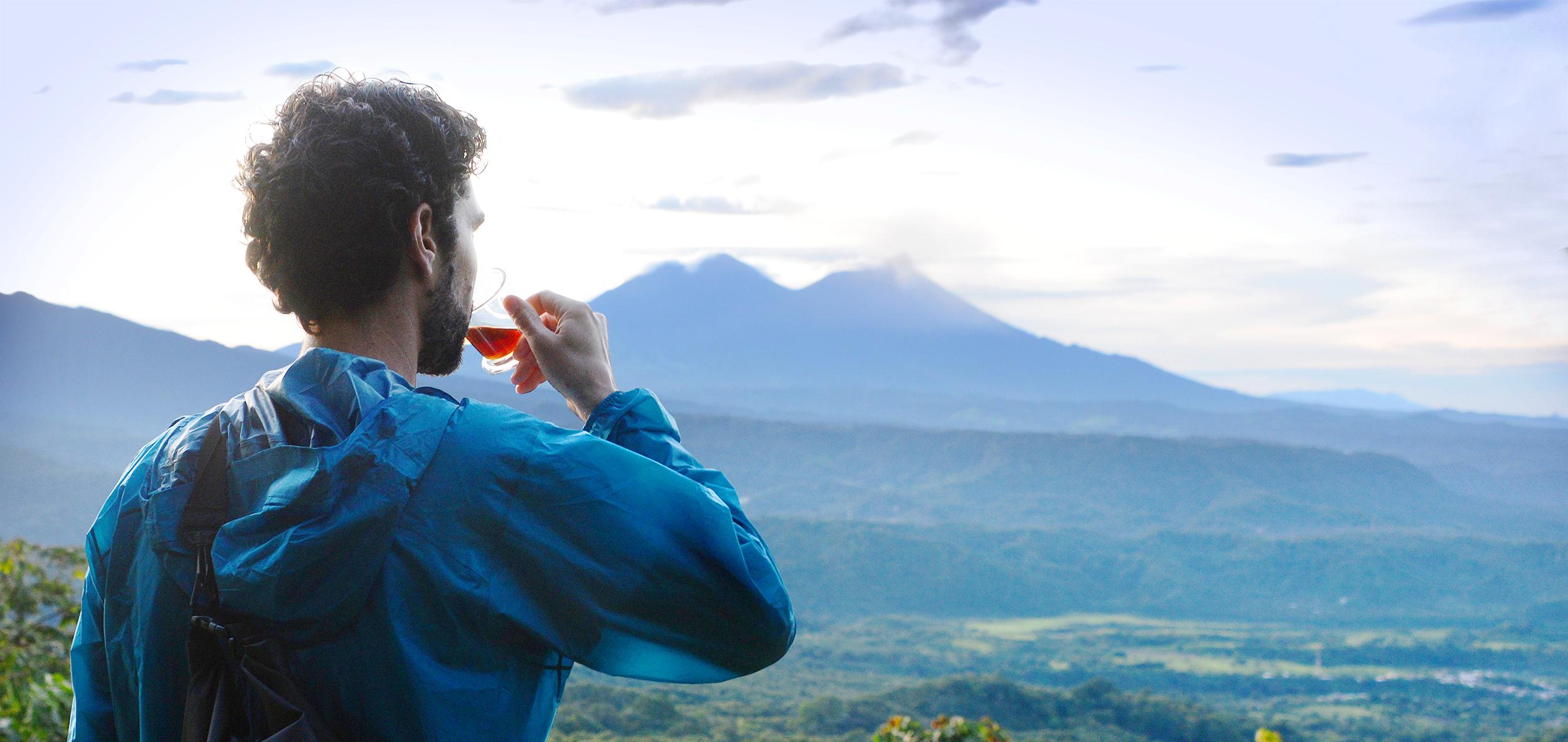 vicafe employee on a coffee farm in guatemala