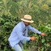 Oscar Kaffeebauer auf Finca Los Nogales
