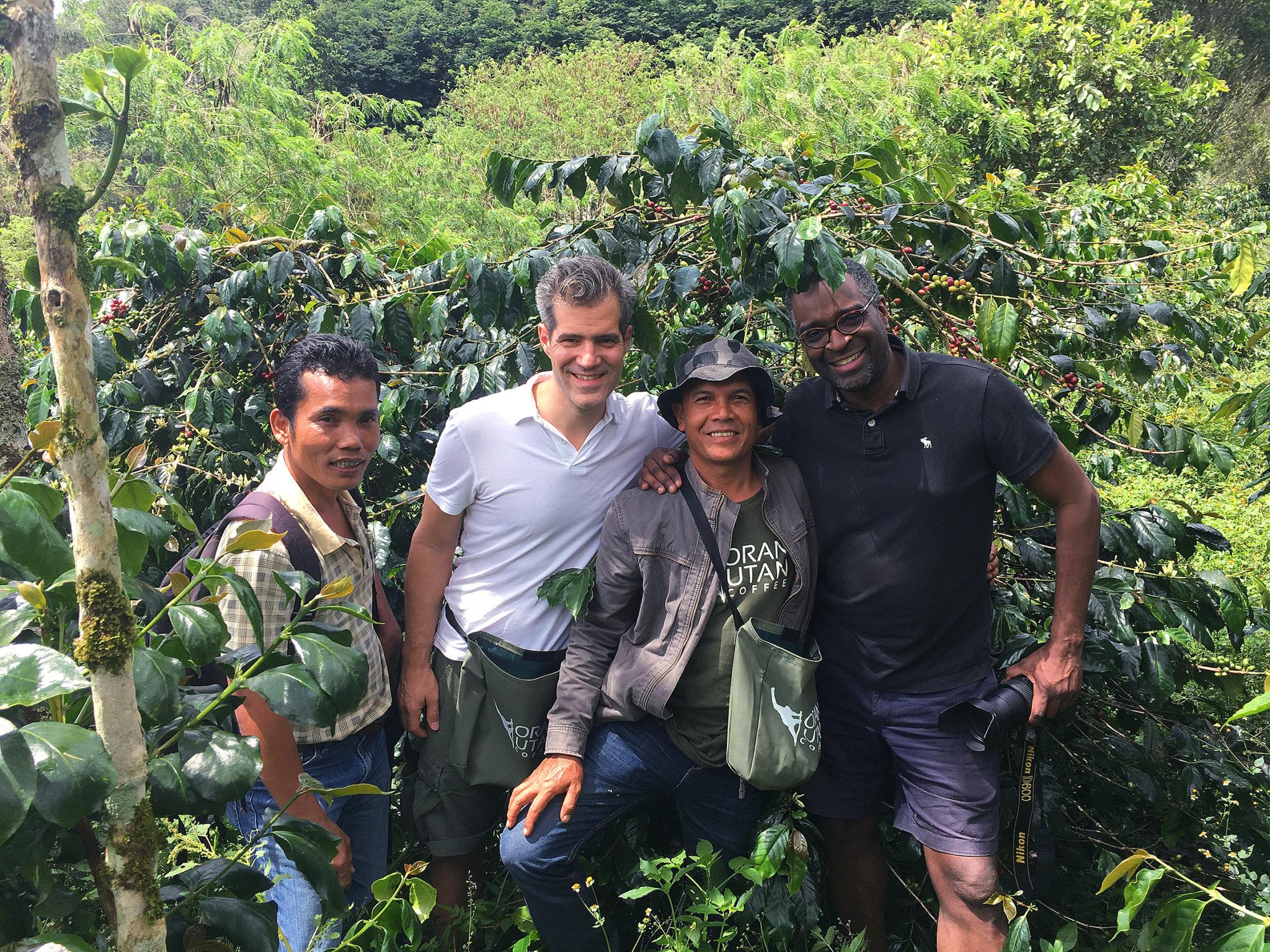 Vicafe auf Besuch bei Orang-Utan Coffee