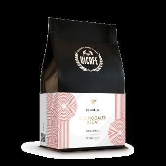 Vicafe Los Nogales Decaf Coffee bag